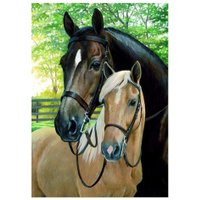 Horses 5D Full Diamond Painting Embroidery DIY Craft Needlework Home Decor